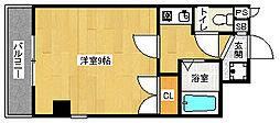 京都府京都市北区長乗東町の賃貸マンションの間取り