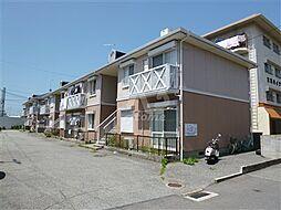 兵庫県明石市立石2丁目の賃貸アパートの外観
