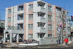北海道札幌市東区北十八条東10の賃貸マンションの外観