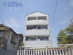 京都府京都市山科区御陵中筋町の賃貸マンションの外観