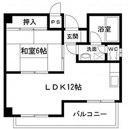 第5タナカビル[5階]の間取り