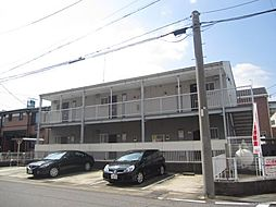 愛知県名古屋市西区比良3丁目の賃貸アパートの外観