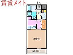 Ark・Maison[2階]の間取り