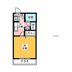 アートパーク大和[1階]の間取り