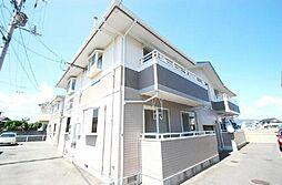 徳島県板野郡藍住町富吉字豊吉の賃貸アパートの外観