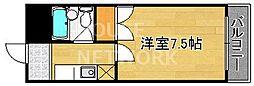 バルコ衣笠[302号室号室]の間取り