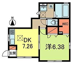[一戸建] 東京都杉並区梅里2丁目 の賃貸【/】の間取り