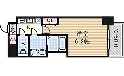 W-STYLE福島IIウィステリア[2階]の間取り