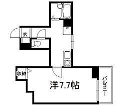 シェークル21[406号室]の間取り