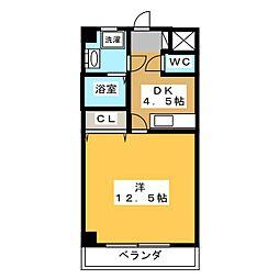 ドリームタウンTAKAII[8階]の間取り