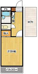 エクセレントルームI[3階]の間取り