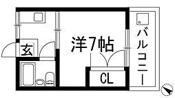 根木マンション[2階]の間取り