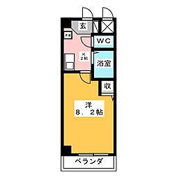 PLAGE HIMURO[5階]の間取り