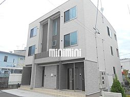 静岡県静岡市葵区巴町の賃貸アパートの外観
