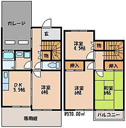 八重洲ハイツ[1階]の間取り