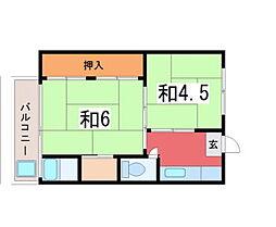三十八社駅 2.6万円