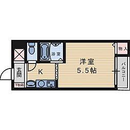 摂津ビル[3階]の間取り