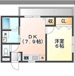 バス 武富ハイツ下車 徒歩5分の賃貸アパート