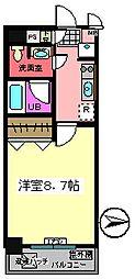 バレーヌ Y&K[304号室]の間取り