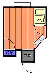 ホワイトパル[2階]の間取り