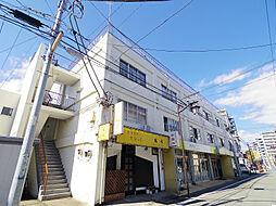 山栄荘A[3階]の外観