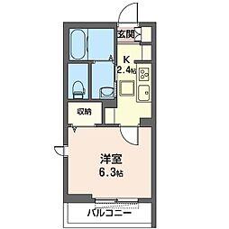 仮)稲毛区轟町SHM[1階]の間取り