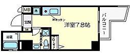 フレアコート新大阪[7階]の間取り