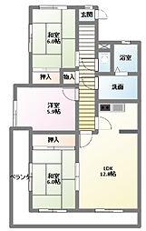 ラクラッシィ社ヶ丘[2階]の間取り