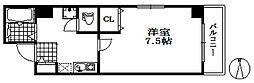 ラフィーネ兵庫[2階]の間取り