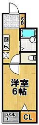 ジュンズタカミ[3階]の間取り