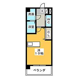 エクセルコート櫻[3階]の間取り