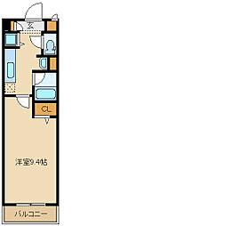 兵庫県尼崎市杭瀬北新町2丁目の賃貸マンションの間取り
