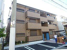 ラグラシューズ A棟[1階]の外観