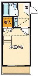 リブイン姫路[2階]の間取り