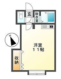 M45[1階]の間取り