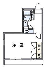 Lake−Minami[2階]の間取り