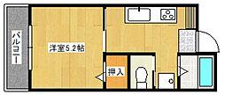 TS1号館[3階]の間取り