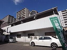 兵庫県明石市桜町の賃貸アパートの外観