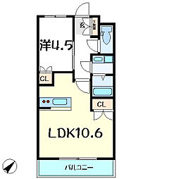 JR山陽本線 明石駅 バス11分 和井取口下車 徒歩3分の賃貸マンション 1階1LDKの間取り