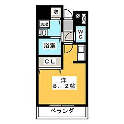 コートライブリーN[3階]の間取り