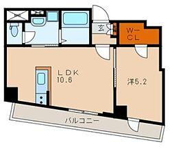 CercaEstacion(セルカエスタシオン)[2階]の間取り