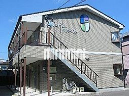 静岡県焼津市大村新田の賃貸アパートの外観