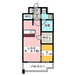 GRAND HILL IWASE BLD[12階]の間取り