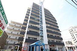 岡山県岡山市北区奥田本町の賃貸マンションの外観