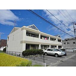 岐阜県羽島市福寿町平方5丁目の賃貸アパートの外観