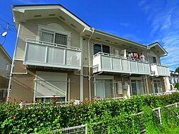 サン・フレイムYABE B[1階]の外観
