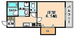 兵庫県伊丹市南本町7丁目の賃貸マンションの間取り