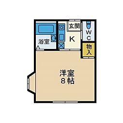 MTY43[2階]の間取り
