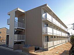 埼玉県吉川市平沼の賃貸マンションの外観