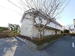 茨城県日立市小木津町3丁目の賃貸アパートの外観